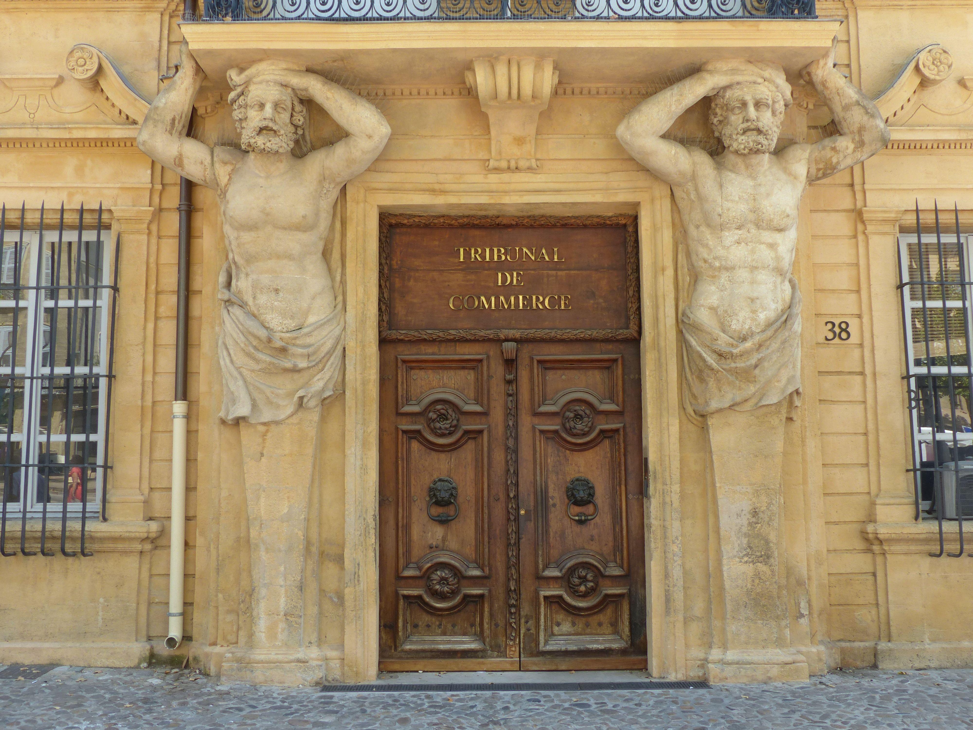 Hugo patrimoine des lieux de justice - Tribunal de commerce de salon de provence ...
